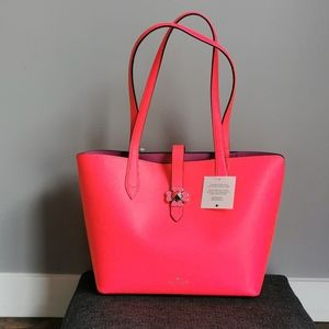 Kate Spade Small Tote Kaci Radiant Pink